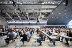 Der MedAT fand in Oberösterreich im Design Center Linz statt.