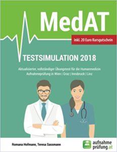 Die MedAT Testsimulation 2018 ist jetzt bei Amazon erhältlich.